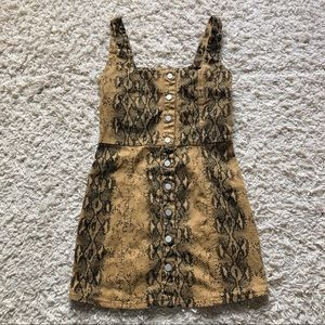 Snake Skin Dress 🐍